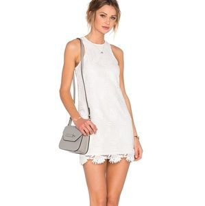 NWT Lovers+Friends White Embroidered Mini Dress